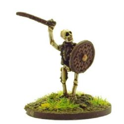 Chariot Miniatures 15mm Fantasy EEC09 Skeleton w/Sword (x 8 figs)